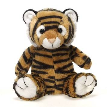 "Travel Tails - Bean Bag Tiger 9"" picture"