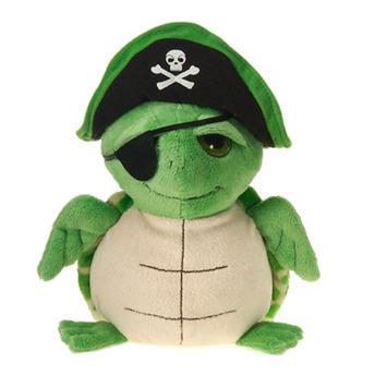 """Fiesta Stuffed Pirate Turtle 9"""" picture"""