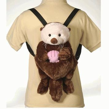 "16"" Sea Otter Backpack picture"