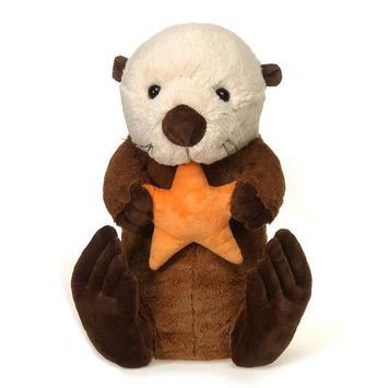 Fiesta Toy Fiesta Stuffed Sea Otter Holding Star 15