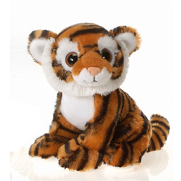 "Fiesta Stuffed Big Eyes Tiger 9"" picture"