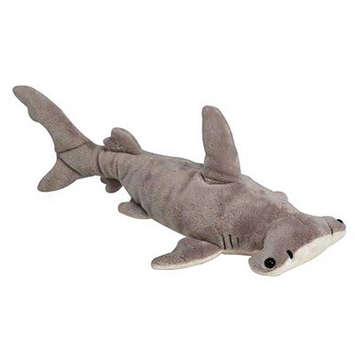"16"" Stuffed Hammer Head Shark picture"