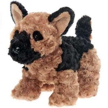 """Fiesta Stuffed German Shepherd Dog 9.5"""" picture"""
