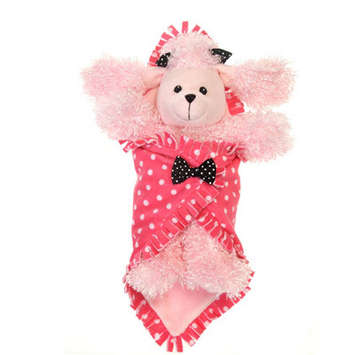 "Fiesta Blanket Babies? Pink Poodle 11"" picture"