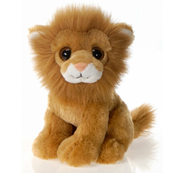 "Lamane 9"" Sitting Big Eyes Lion picture"