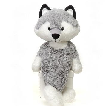 """Fuzzy Folk - """"August"""" Wolf 16"""" picture"""