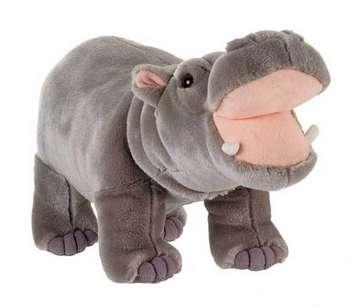 "Fiesta Stuffed Hippo 14"" picture"