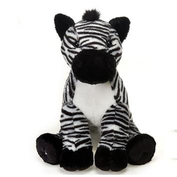 """Fiesta Stuffed Zebra 15"""" picture"""