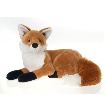 "Fiesta Stuffed Laydown Red Fox 13"" picture"