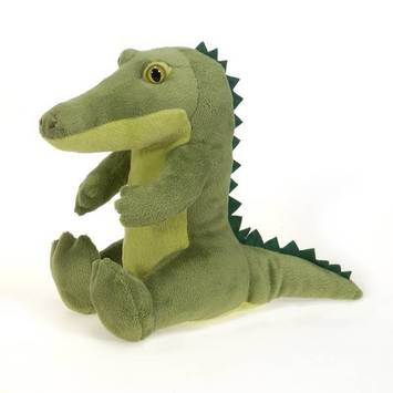 "Travel Tails - Bean Bag Green Alligator 9"" picture"