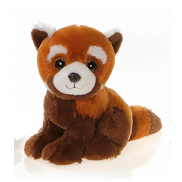 """Pong 9"""" Sitting Big Eyes Red Panda picture"""