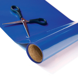 """Tenura Silicone Non-Slip Roll - Blue,  29 1/2' x 7 3/4"""" (899 x 19.7 cm) picture"""