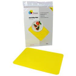"""Tenura Silicone Non-Slip Table Mat - Yellow, 17 3/4 x 15"""" (45.1 x 38.1 cm) picture"""