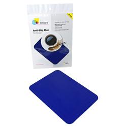 """Tenura Silicone Non-Slip Table Mat - Blue, 13 3/4 x 10"""" (34.9 x 25.4 cm) picture"""