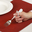 Finger Loop  Utensils - Salad Fork, Right-hand additional picture 1