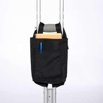 Crutch Bag - Vinyl, Black picture
