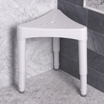 Adjustable Corner Shower Seat picture