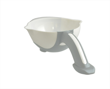 Stay Bowl, White/Light Gray picture