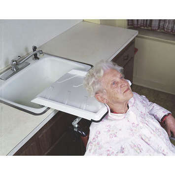 Wheelchair Shampoo Rinse Tray picture