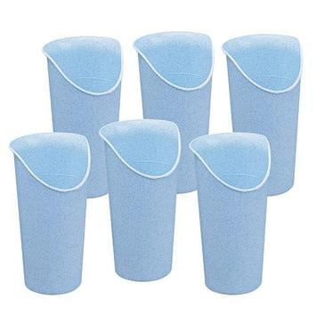Nosey Cup  Light Blue - Box of 6 picture