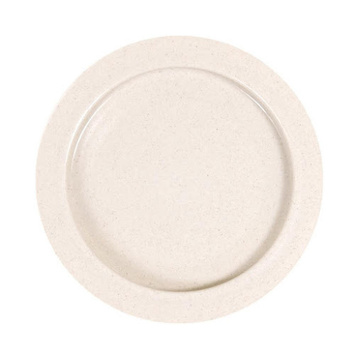 Inner-Lip™ Plate - Plastic, Sandstone, Package of 12 picture