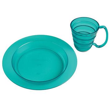 Ergo Plate and Mug Set - Blue picture