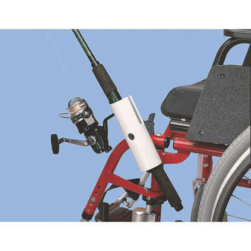 Fishing Pole Holder for Wheelchairs picture