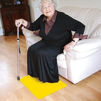 Tenura Silicone Non-Slip Floor Mat - Yellow picture
