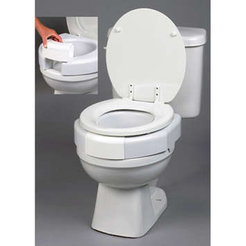 Secure-Bolt™ Elevated Toilet Seat picture