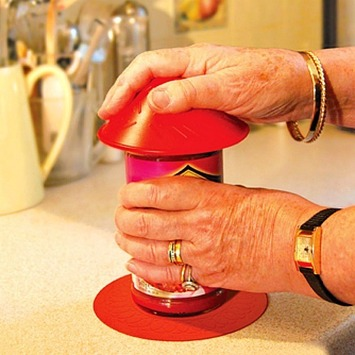 Tenura Silicone Jar Opener - Red picture