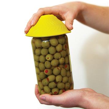 Tenura Silicone Jar Opener - Yellow picture