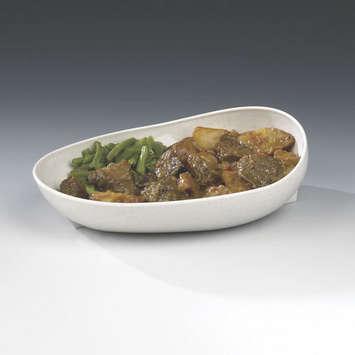 Skidtrol® Scooper Dish with Non-Skid Base - Sandstone picture