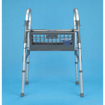 No-Wire™  Walker Basket - Assembled picture