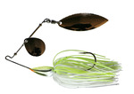 M HULL TYPE SPINNER BAIT - 1/2oz - C002 WHITE CHART