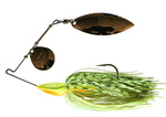 M HULL TYPE SPINNER BAIT - 1/4oz - C004 CHART-SHAD