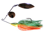 M HULL TYPE SPINNER BAIT - 1/2oz - C007 HOT TIGER
