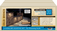CAST Landscape Lighting Kit for Retaining Walls picture