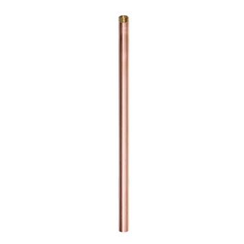 "Copper Pipe Stem 12"" picture"