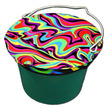 Horse Spa Lycra Bucket Top Small 8Qt Bubbles additional picture 10