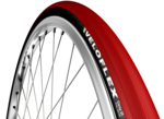 CORSA  CLINCHER RED - 25 mm