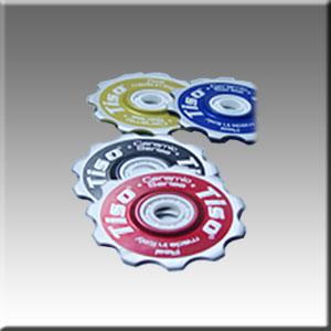 Jockey Wheel T11 W/Full Ceramic Bearings Blue picture