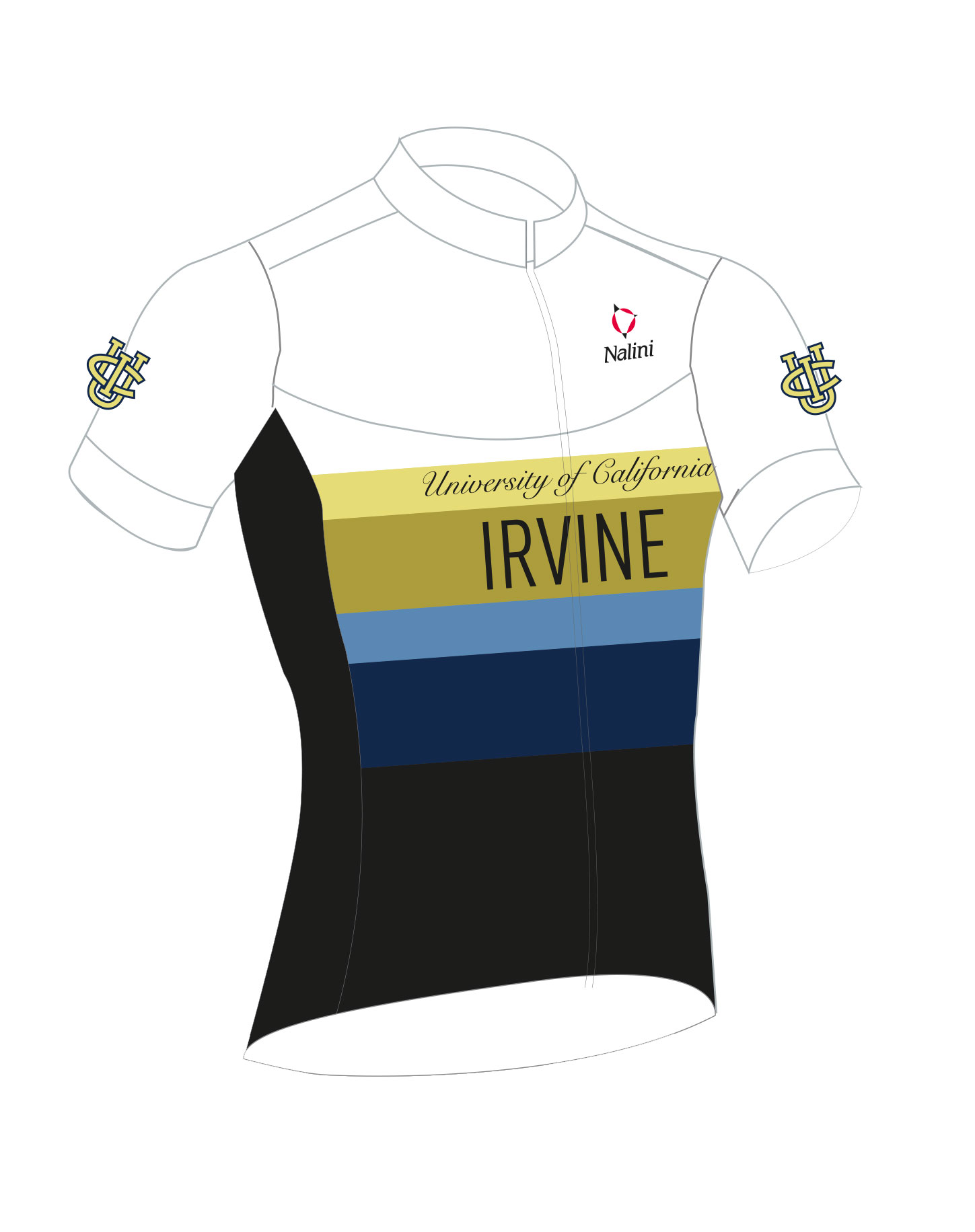 2018 UC Irvine Cycling Team SS Cycling Jersey picture