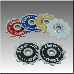 Jockey Wheel T11 With Ball Ceramic Bearing Red picture