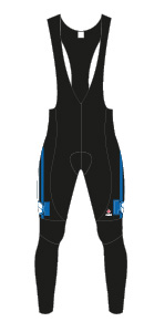 Yale Cycling Team Winter WOMEN'S Bib Tights picture
