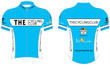 The Cycling Club Blue SS Cycling Jersey - Lagusello2 additional picture 2