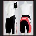 Selle SMP Bib Short Black/Red/White