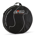 Scicon Double Padded Wheel Bag - Black