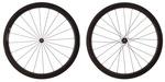 4ZA Cirrus Pro C45 Clincher Wheelset - Black/Black