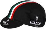 Bianchi-Milano Italian Cycling Cap - Black Italia