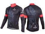 Bianchi-Milano Sorisole LS Jersey - Black/Red
